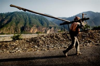 Dalit bonded laborer