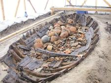 1500 year old boat found under Istanbul